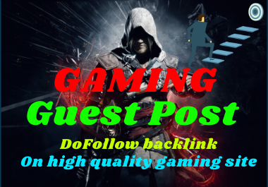 Write and publish a Guest Post on GAMING Blog
