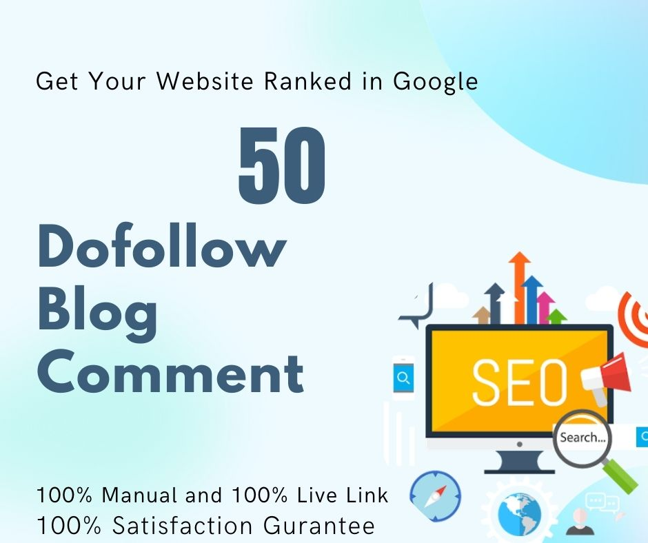 50 Manual Do-Follow Blog Comments
