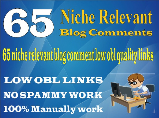 Do 50 Niche Manual Blog Comments On High Da Links