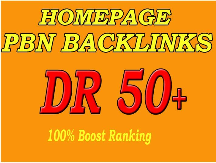 5 PBN On High DR Homepage Permanent post quickly rank your website