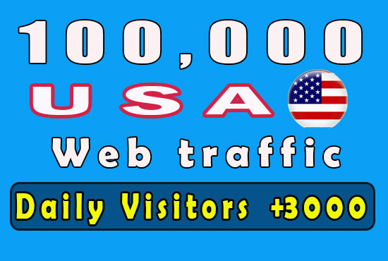 100K USA Niche relevant and Keywords base targeted Website traffic Real Visitors NO Bots