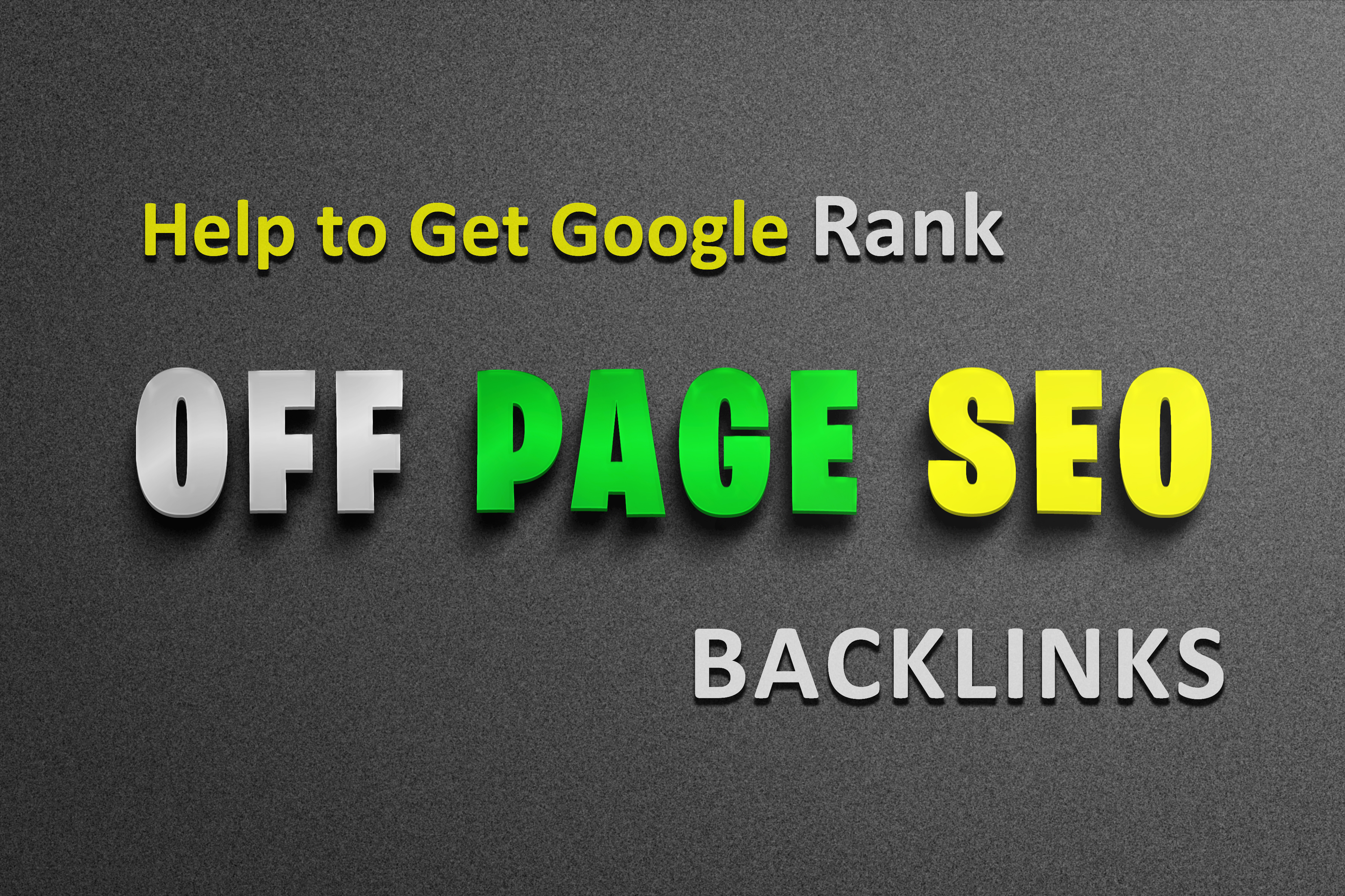 N0. 1 Google Ranking - Off Page SEO Backlink PACK - trusted links - White hat SEO link plan