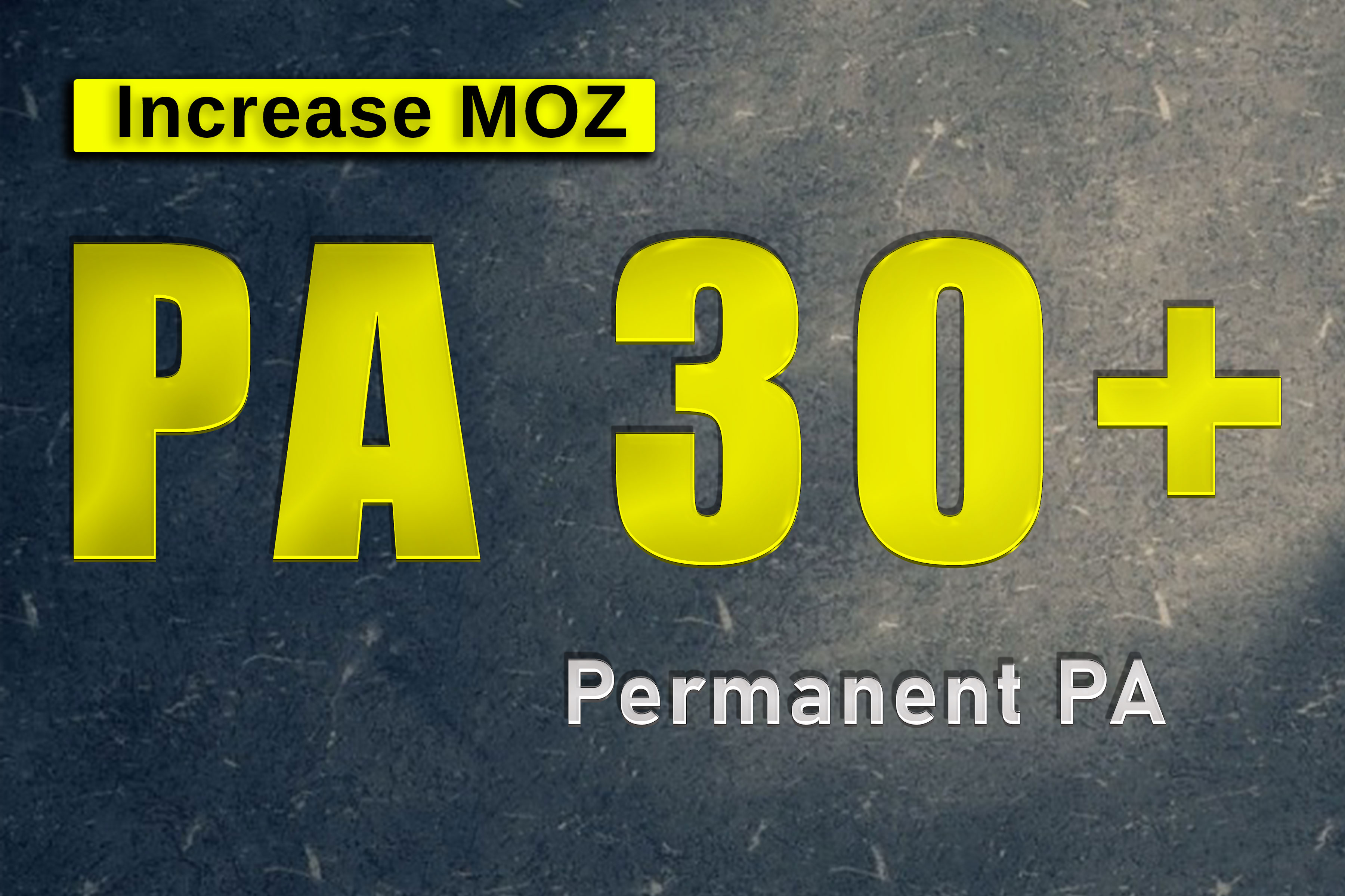 increase page authority PA by moz up to 30 in only 10 Days