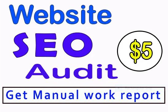 offer Website AUDITING with detailed SEO Manually review ssite and provide a complete SEO Report