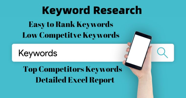 I will do Top Keyword Research for your Website to Rank Fast
