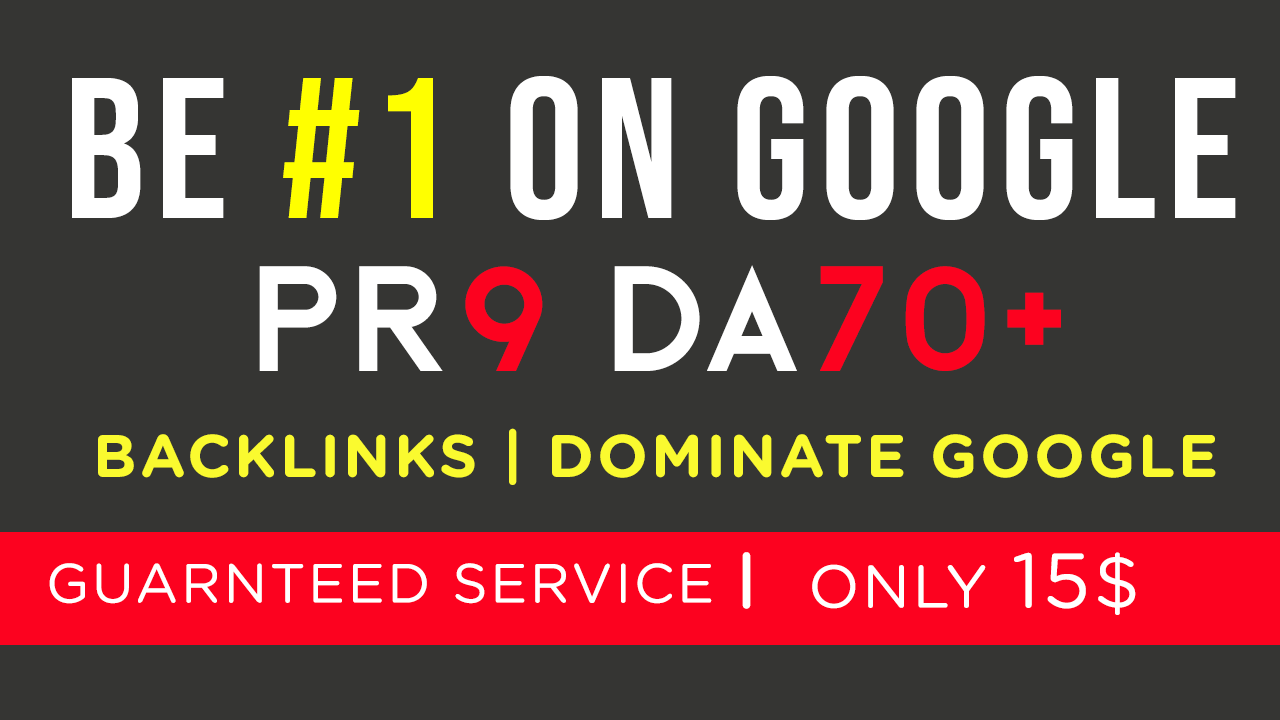 10 x DA 70+, PR9 Links + 1000 x Social Networks and Forums in Tier 2 High Authority SEO Backlinks