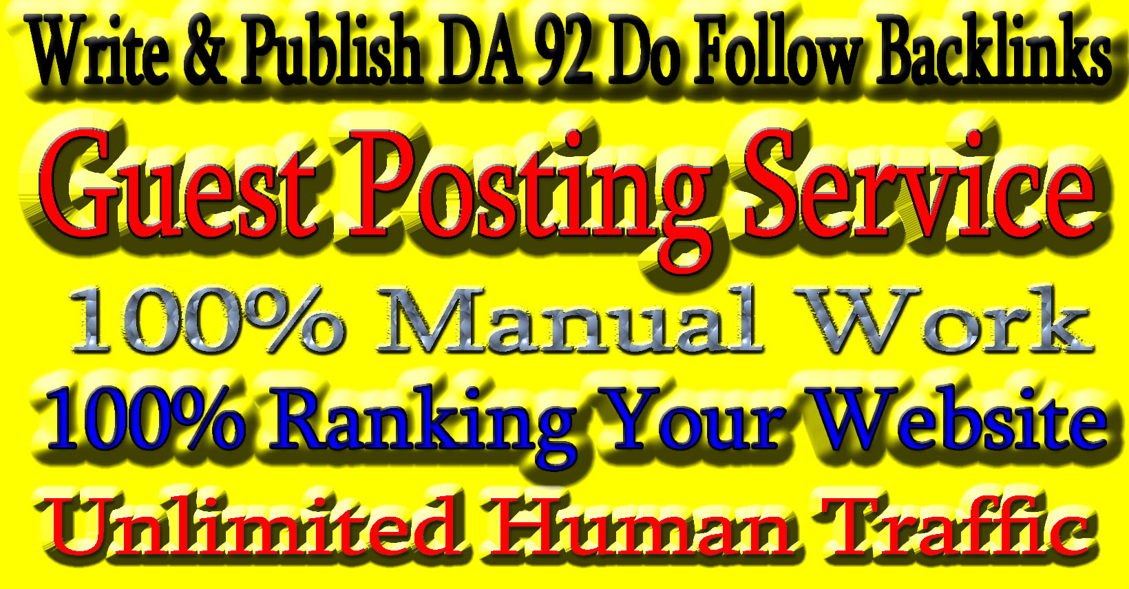 I will publish high quality seo guest p0st with dofollow backlinks