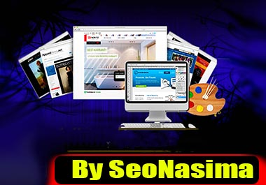 I will design a responsive website personalized for your target audience