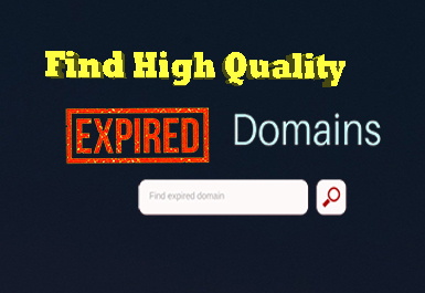 Search High Da Pa Expired Domains For You