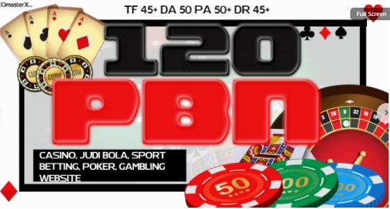100 Homepage PBN Post for Casino,  Poker,  Betting,  Judi Bola,  Gambling - SEO