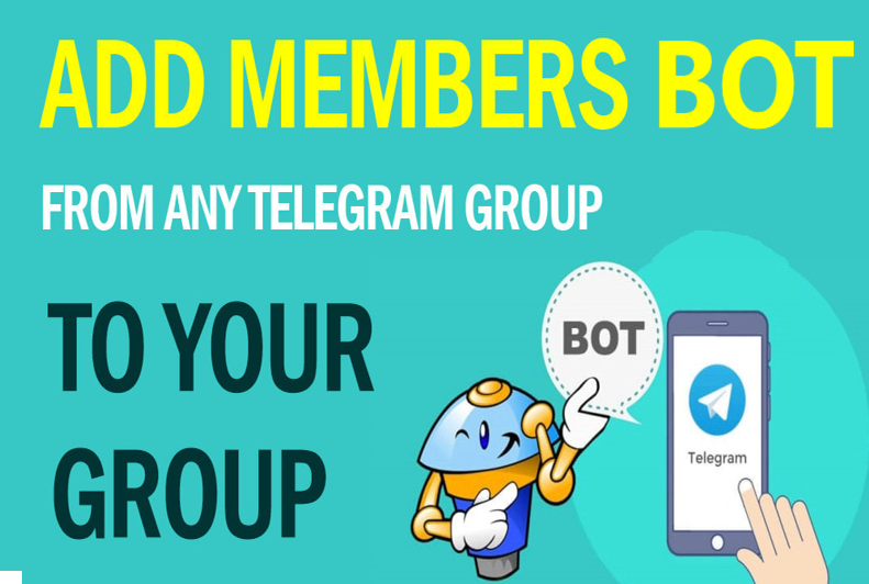 TELEGRAM BOT to add users from any gr0up to your gr0up