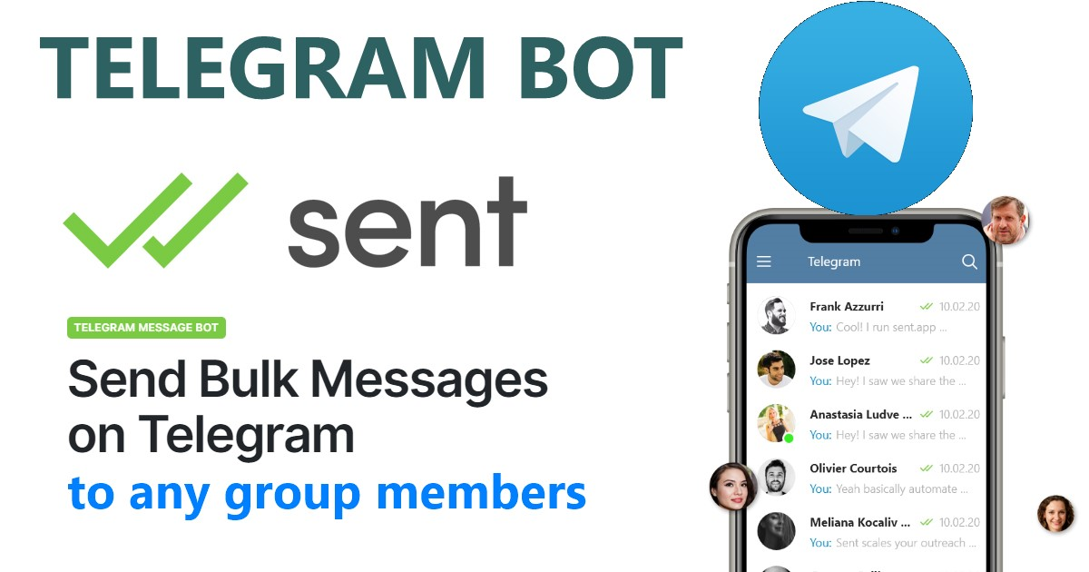 Telegram Bulk Messaging bot - send messages to users from any gr0up, promote your links instantly