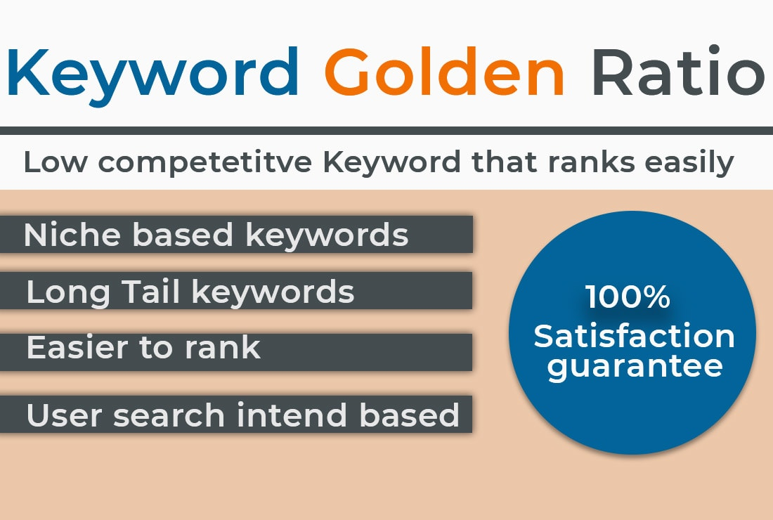 I will do kgr keyword research for any amazon niche