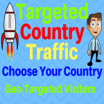 5000 quality country targeted traffic to your website 30 days