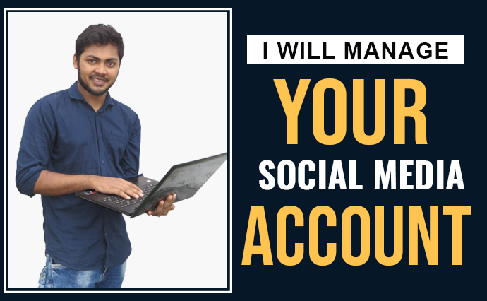 i will manage your Social media account for 7 days