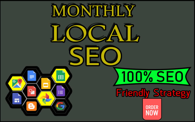 monthly local SEO to rank your website first page of google