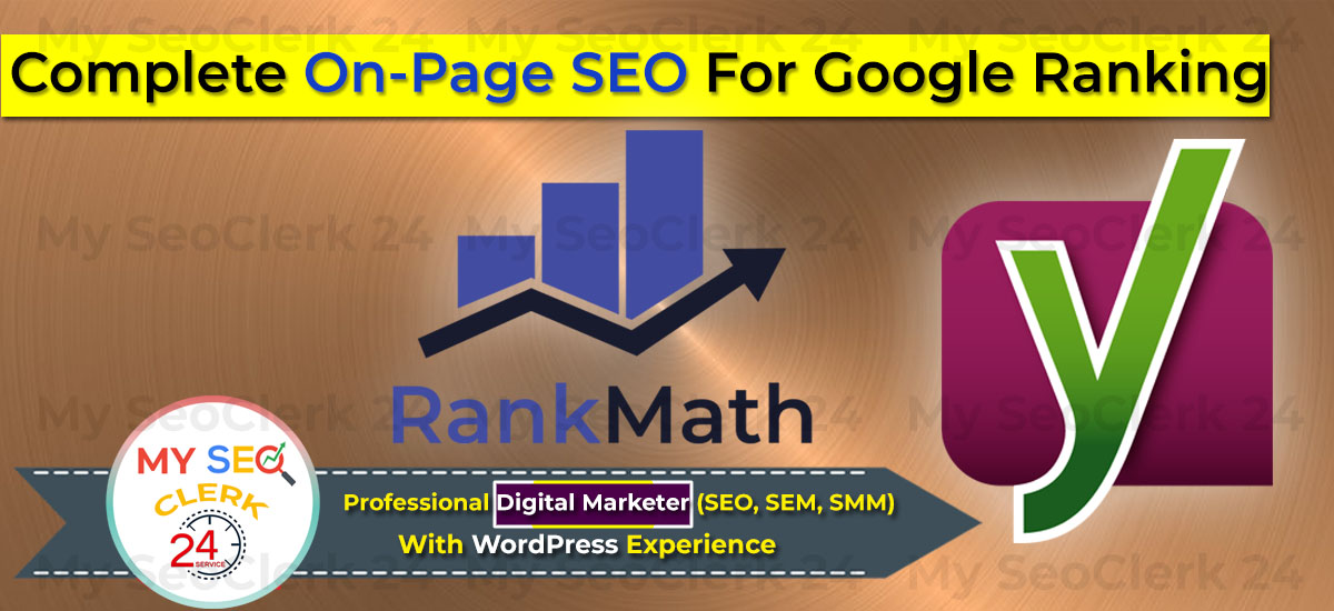 You will get on page SEO for your business website google ranking