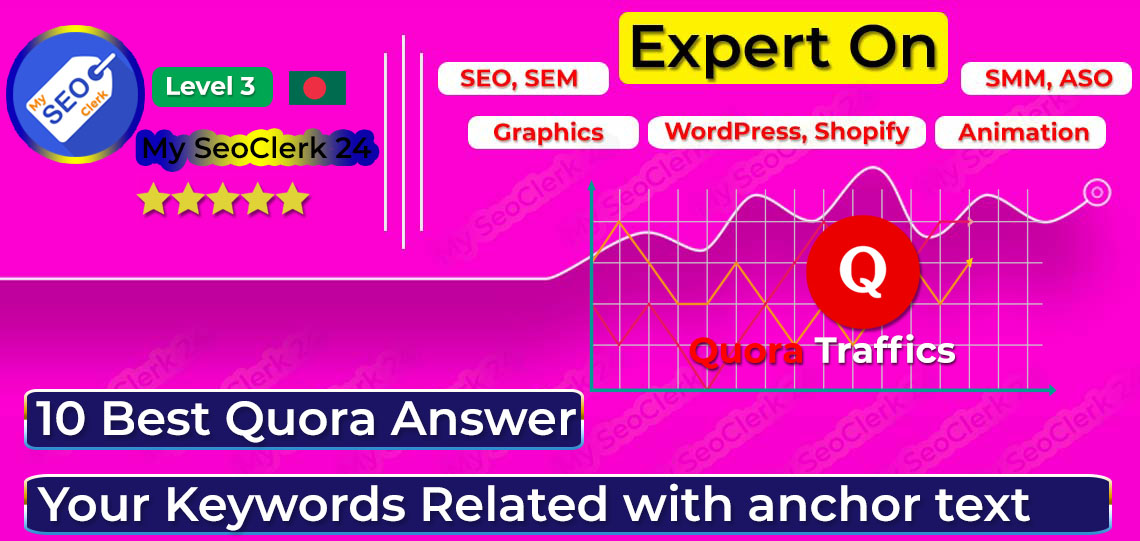 GET 10 Best Quora Answer,  Your Keywords Related with anchor text