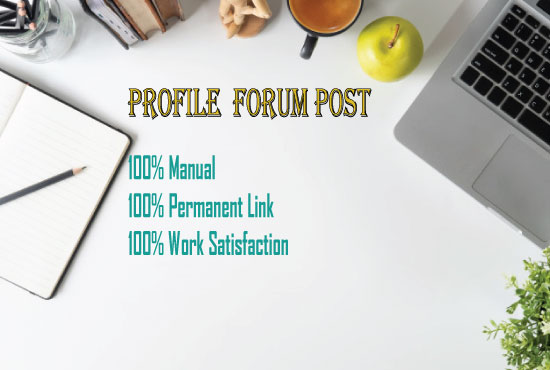 I can Create HQ 35 Profile forum for your site