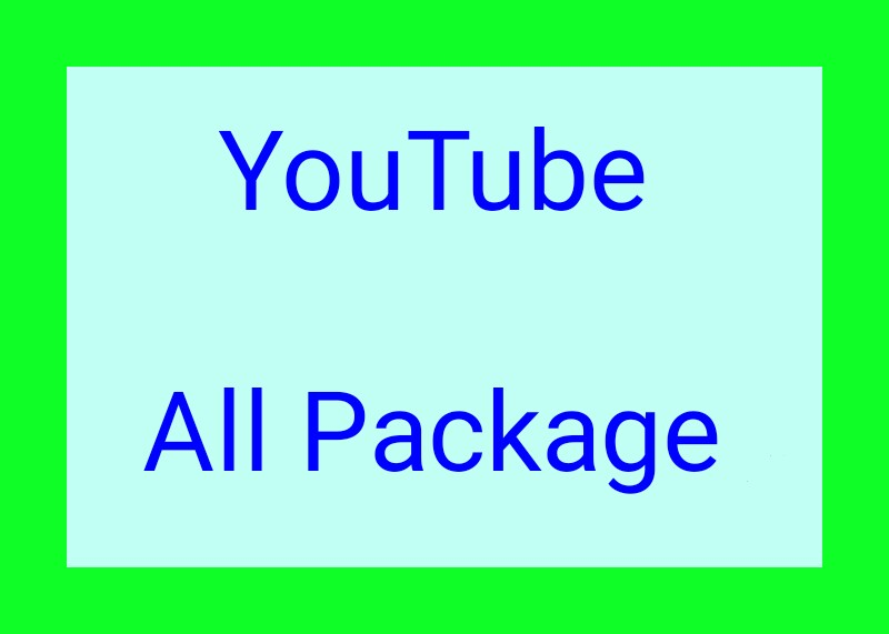 Boost Your YouTube video promotion world wide user Fast Delivery