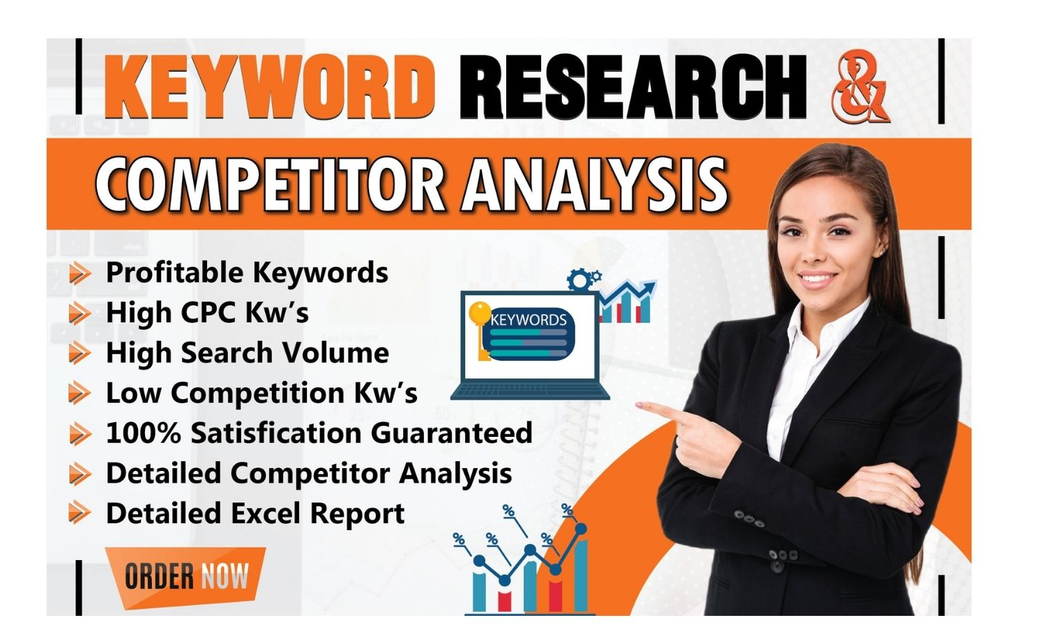 I will do excellent SEO keyword research and competitor analysis fast
