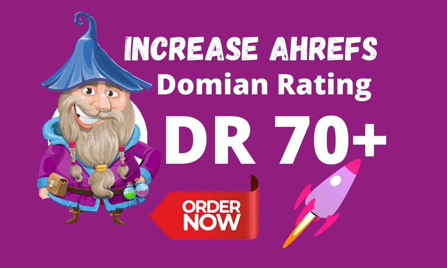 I will increase Ahref Domain Rating 70 in 29 days White Hat Seo