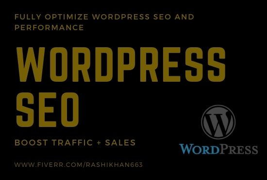 I Will Do Onpage SEO for Your WordPress Website with yoast