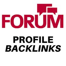 I will do 100 high quality forum profile backlinks