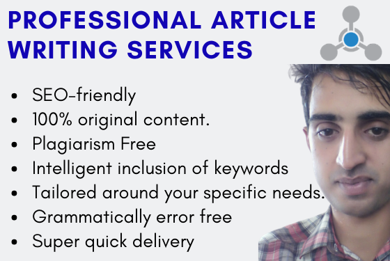 Professional SEO friendly Article Writing Services for Blog and Websites