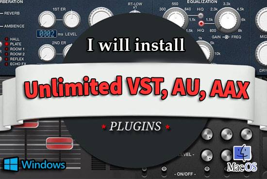I will help you to download & install vst plugins