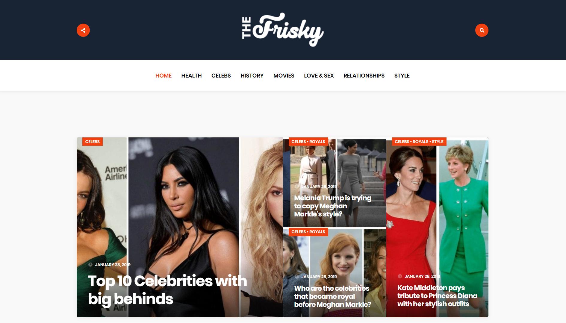 publish guest post on thefrisky. com