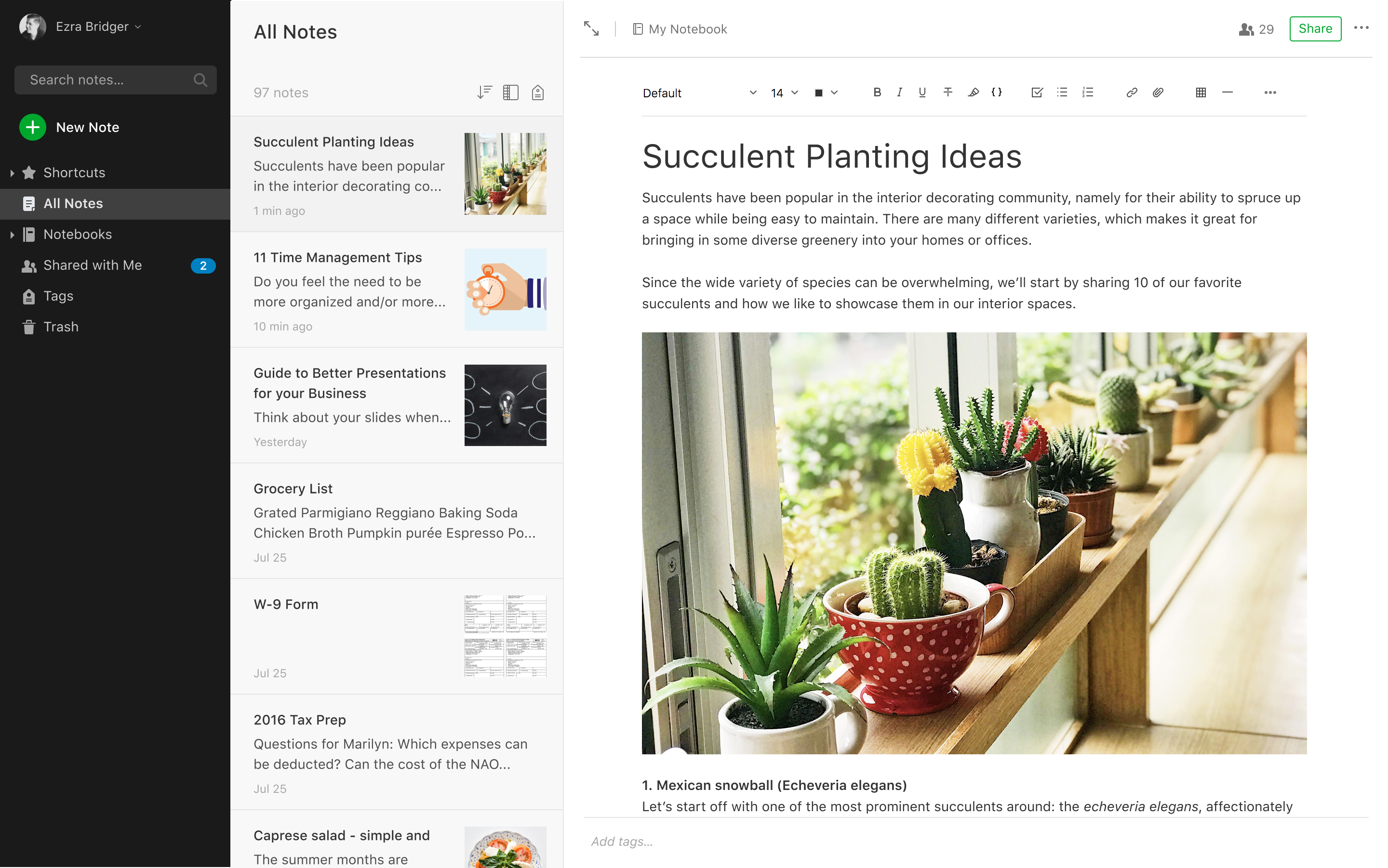 guest post on evernote evernote. com