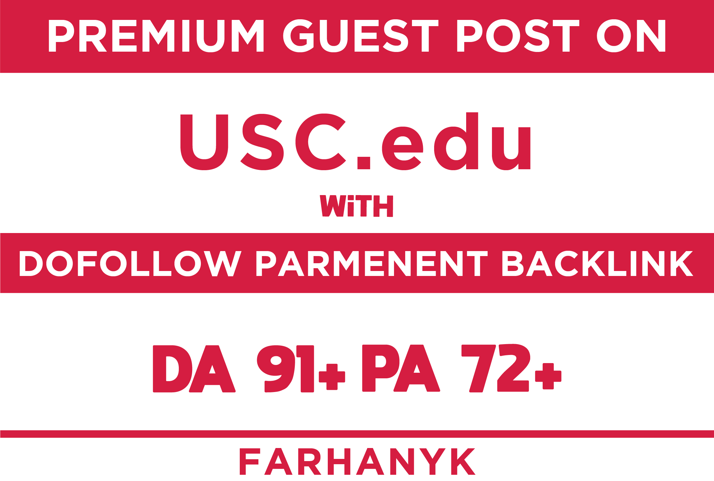 make guest post on university of southern california da91 pa72 blog