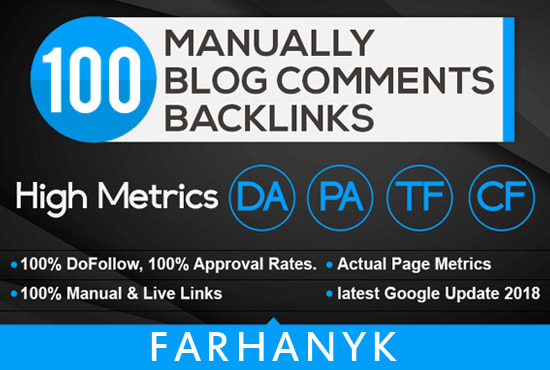 make 100 Fantastic Blog Backlinks on your Website to Rocket Google Ranking