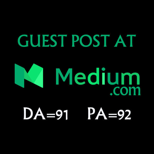 I will write and Publish a High Quality Guest Post DA 91