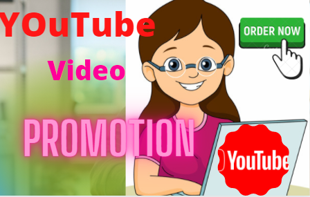 High Quality YouTube VIdeos Promotion Via real user