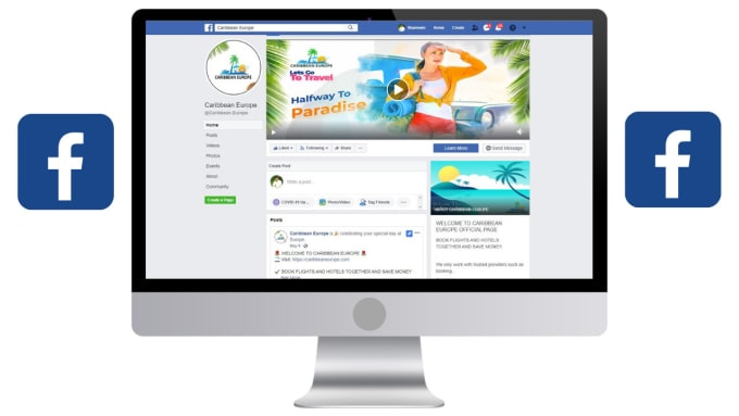 I will facebook business page setup,  manage and optimize