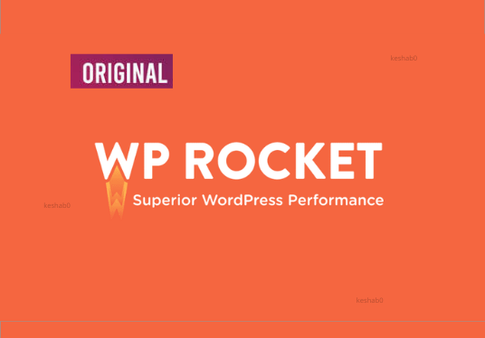 Install and activate wp-rocket plugin on your website