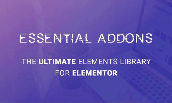 Install lifetime updatable essential addons pro for elementor