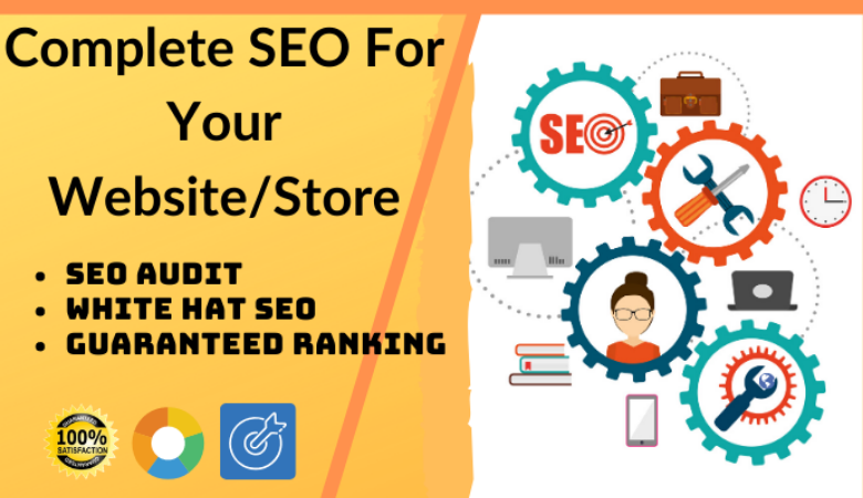 I will do complete seo for your website to rank higher in serp