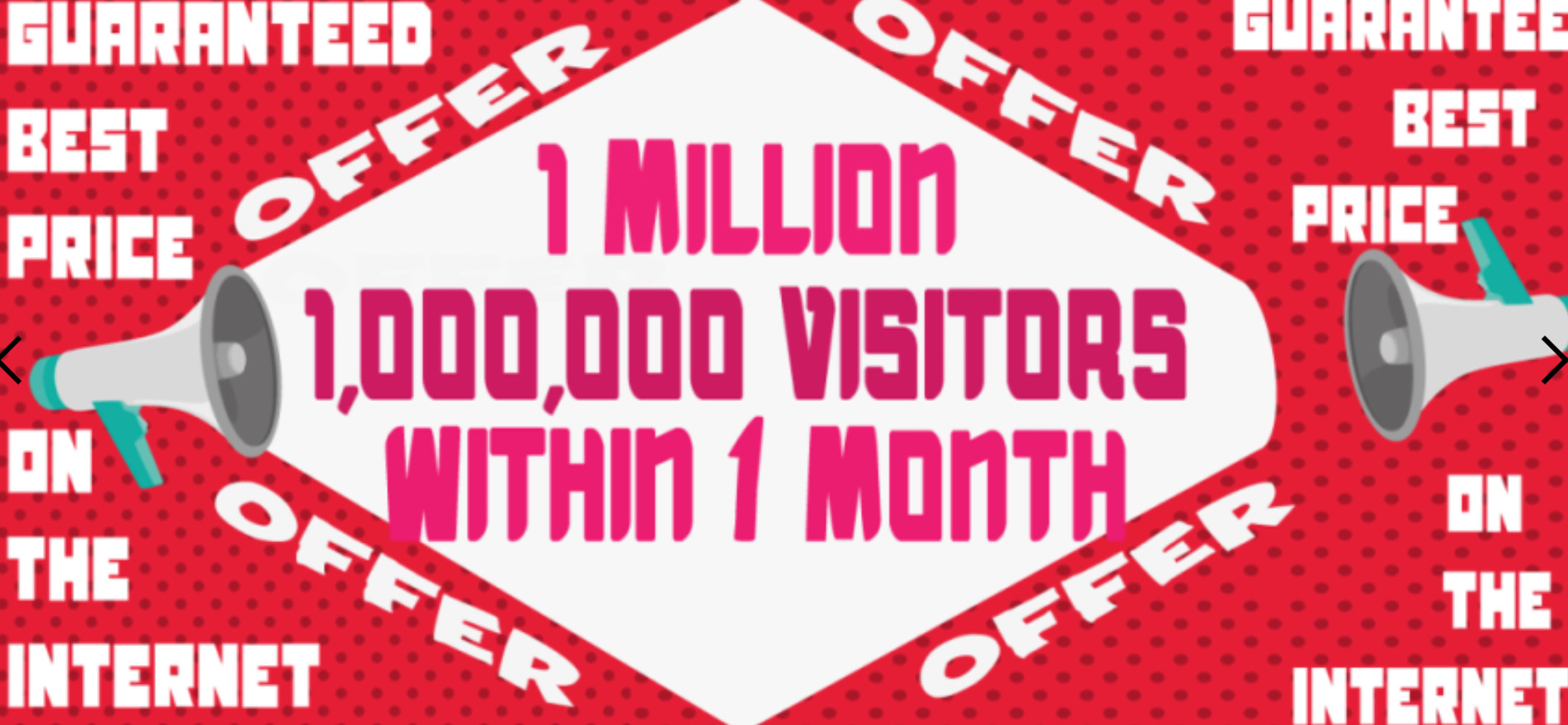 1 Million Website Views Super Cheap