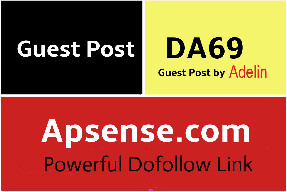 Dof0llow Guest Post on Apsense,  Apsense. com DA69
