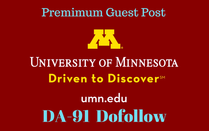 Guest post on Umn. edu DA91 Edu Blog