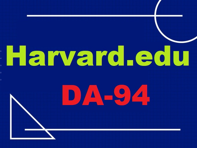 Permanent Guest Post On Harvard University Harvard. edu DA94