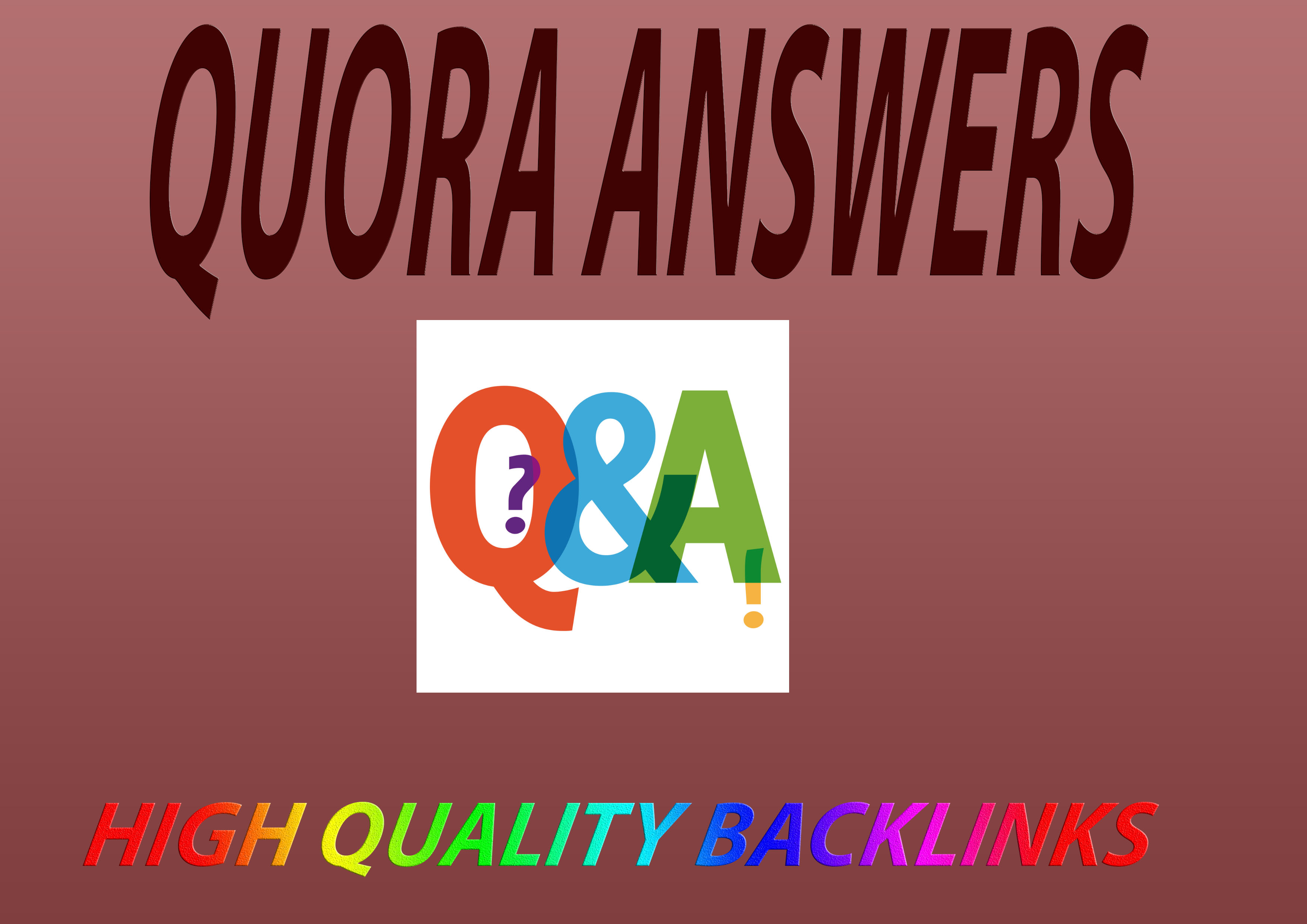 Increase Your Business With 10 High Quality Quora Bac...