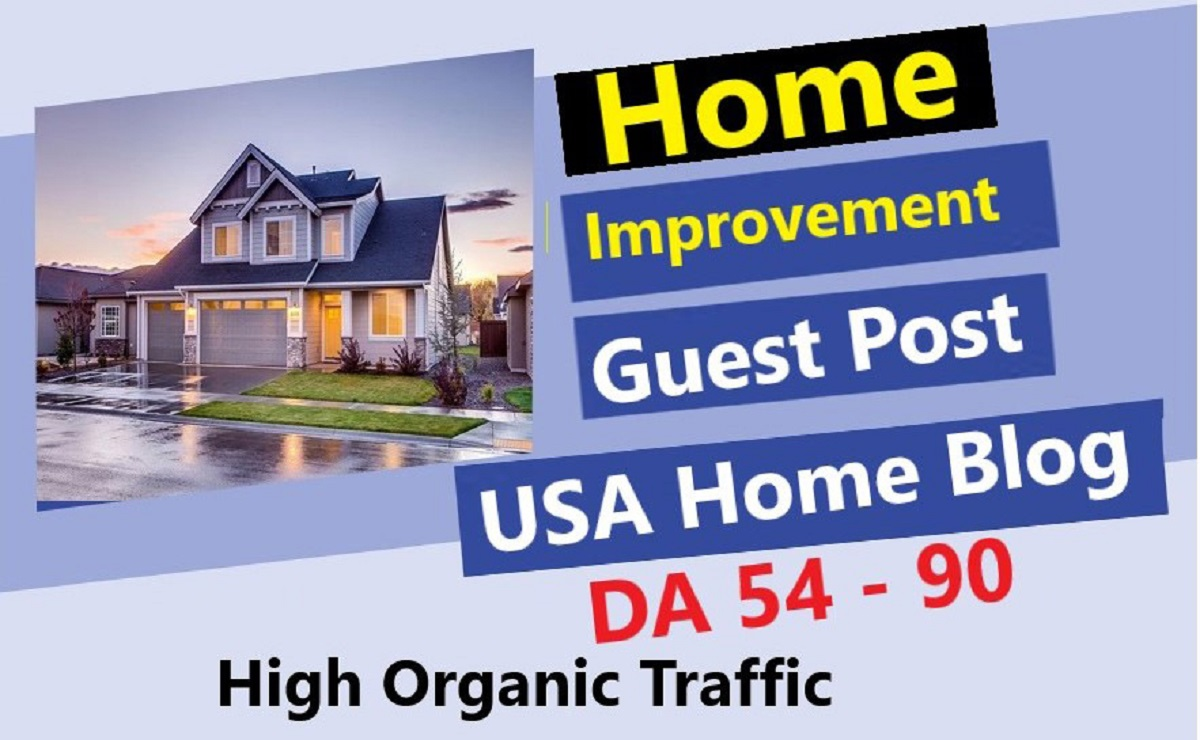 Home Guest Post DA 54 to 90 Real USA Home Blog Traffic 970k