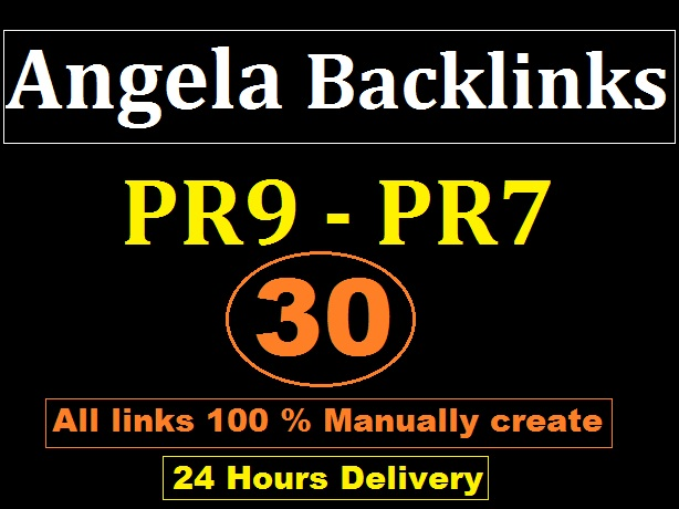 Manually Done 30 PR9 DA 70+ SEO Authority Profile Backlinks - Skyrocket your Google RANKING