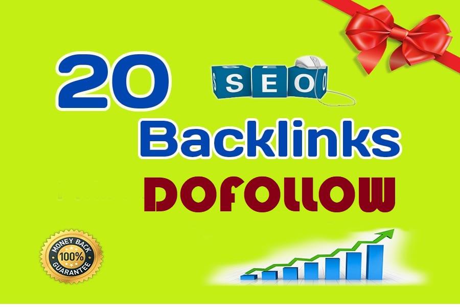 20 PR9 80+DA Manual High Quality Permanent SEO Backlinks to increase your Google ranking