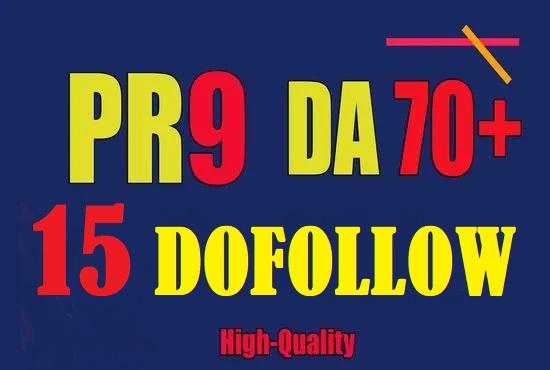 15 Dofollow backlinks 60+DA Site Boost Ranking Trust Authority SEO LinkBuilding Service