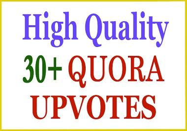30+ HQ Quora Upvote, Vote within Few Hours